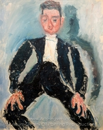 Garcon d'Honneur painting reproduction, Chaim Soutine