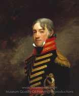 General John R. Fenwick painting reproduction, Gilbert Stuart