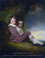 George, Lord Brooke painting reproduction, George Romney