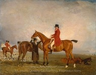 George, Marquess of Huntly, on Tiny painting reproduction, Benjamin Marshall