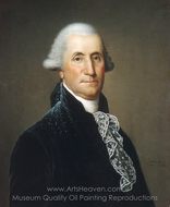 George Washington painting reproduction, Adolph Ulrich Wertmuller