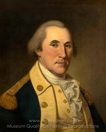 George Washington painting reproduction, Charles Willson Peale