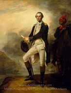 George Washington painting reproduction, John Trumbull