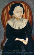 Girl in Black painting reproduction, Andre Derain
