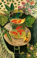 Goldfish painting reproduction, Henri Matisse
