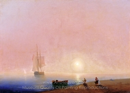 Goodbye painting reproduction, Ivan Aivazovskiy
