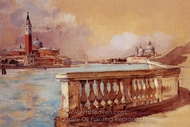 Grand Canal in Venice painting reproduction, Frank Duveneck