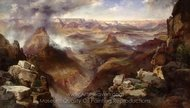 Grand Canyon of the Colorado River painting reproduction, Thomas Moran