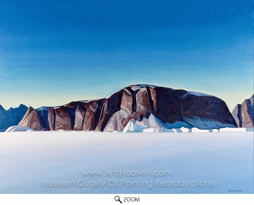 Rockwell Kent, Greenland Coast oil painting reproduction
