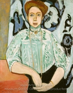 Greta Moll painting reproduction, Henri Matisse