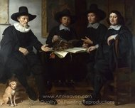 Group Portrait painting reproduction, Gerbrand Van Den Eeckhout