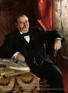 Grover Cleveland painting reproduction, Anders Zorn