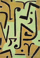 Halme painting reproduction, Paul Klee