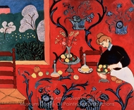 Harmony in Red painting reproduction, Henri Matisse