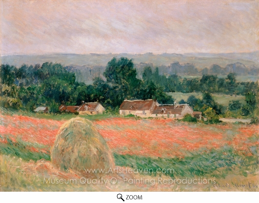 Claude Monet, Haystack at Giverny oil painting reproduction