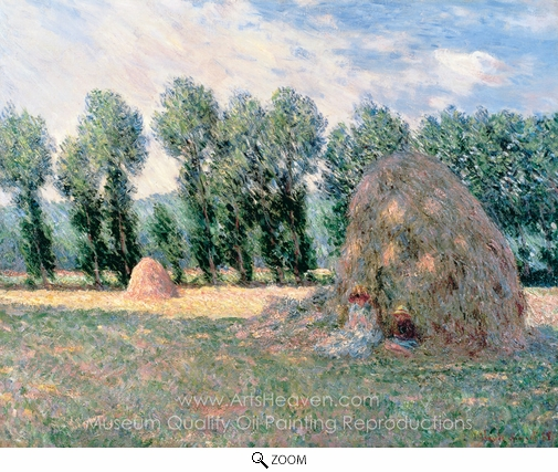 Claude Monet, Haystacks oil painting reproduction