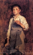 He Lives by His Wits painting reproduction, Frank Duveneck