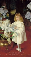 Helen Sears painting reproduction, John Singer Sargent