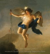 Hesperus as Personification of the Evening painting reproduction, Anton Raphael Mengs