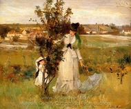 Hide and Seek painting reproduction, Berthe Morisot