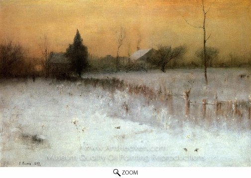 George Inness, Home at Montclair oil painting reproduction