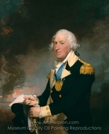 Horatio Gates painting reproduction, Gilbert Stuart