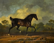 Horse Trotting painting reproduction, Sawrey Gilpin