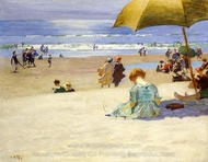 Hourtide painting reproduction, Edward Henry Potthast