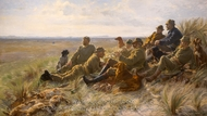 Hunters of Skagen painting reproduction, Peder Severin Kroyer