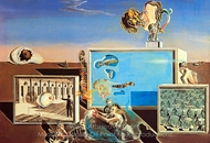 Illumined Pleasures painting reproduction, Salvador Dali (inspired by)