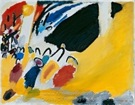 Impression III, Concert painting reproduction, Wassily Kandinsky