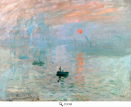 Impressionism Monet Sunrise Claude Monet Im...