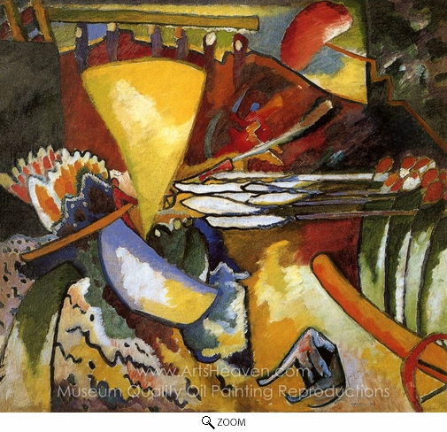 Wassily Kandinsky, Improvisation 11 oil painting reproduction