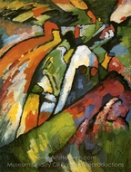 Improvisation 7 painting reproduction, Wassily Kandinsky