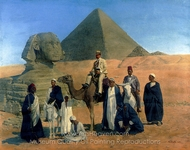 In Search of the Pharaohs painting reproduction, Alois Stoff