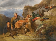 In the Highlands painting reproduction, John Frederick Herring Sr.