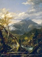Indian Pass painting reproduction, Thomas Cole