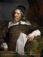Inigo Jones painting reproduction, William Hogarth
