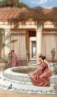 Innocent Amusements painting reproduction, John William Godward
