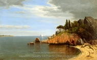 Inside Eastern Point, Gloucester Bay painting reproduction, James Renwick Brevoort