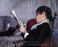 Interior painting reproduction, Gustave Caillebotte