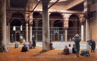 Interior of a Mosque painting reproduction, Jean-Leon Gerome