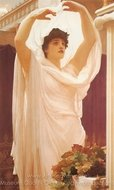 Invocation painting reproduction, Lord Frederic Leighton