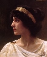 Irene painting reproduction, William A. Bouguereau
