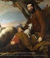 Jacob with the Flock of Laban painting reproduction, Jusepe De Ribera