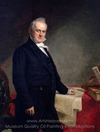 James Buchanan painting reproduction, George P. A. Healy