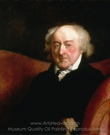 John Adams painting reproduction, Gilbert Stuart