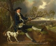 John Plampin painting reproduction, Thomas Gainsborough