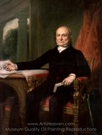 John Quincy Adams painting reproduction, George P. A. Healy