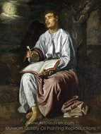 John the Evangelist from Patmos painting reproduction, Diego Velazquez
